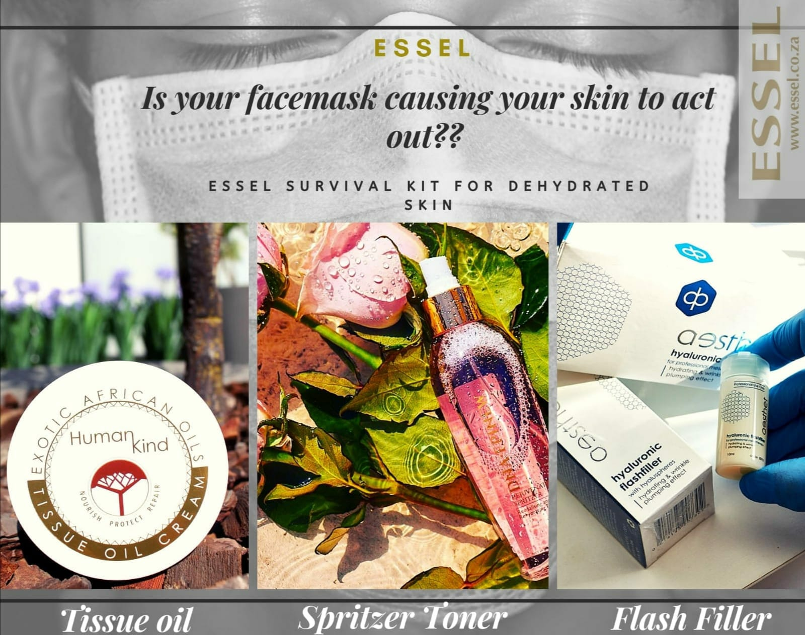 Essel Dehydrated Skin Survival Kit